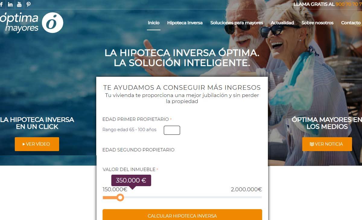 Nueva web hipoteca inversa