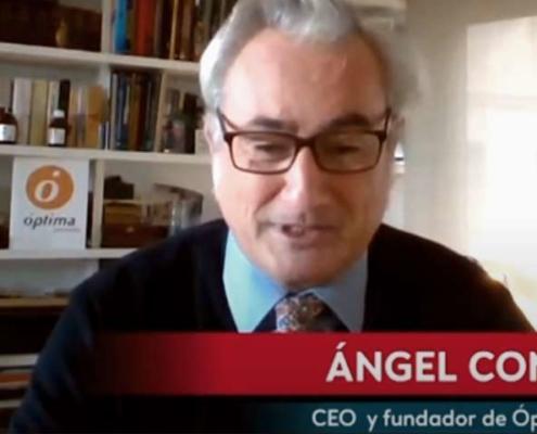 Angel entrevista en Negocios tv