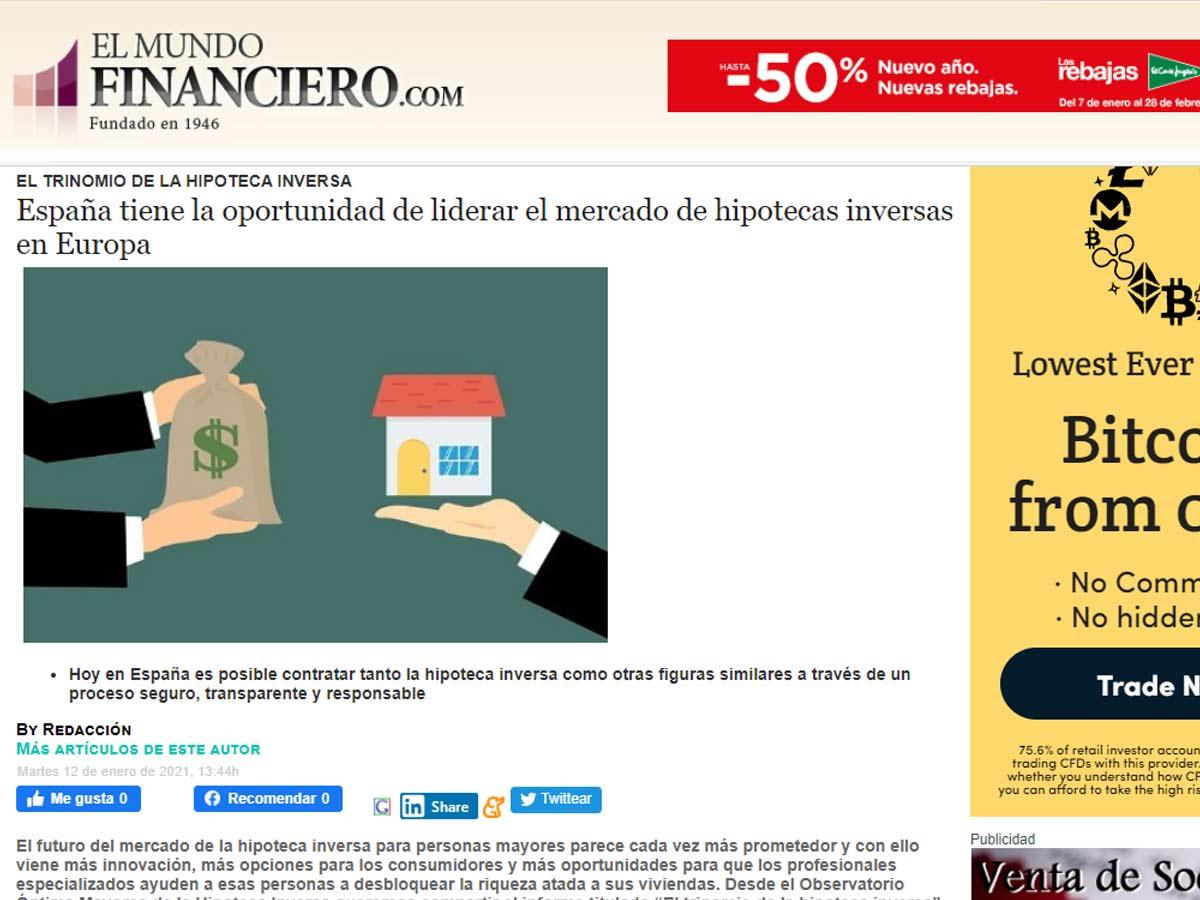 Mercado hipotecas inversas